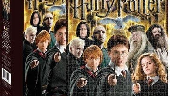 Puzzle 1000 pieces Aquarius Harry Potter Collage