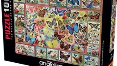 Puzzle 1000 piece Lots Of Butterflies