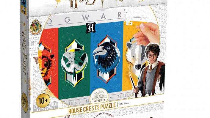 Harry Potter House Crests Puzzle 500 piece