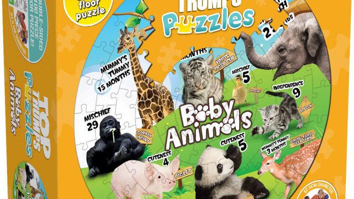 Top Trumps Puzzle Baby Animals Puzzle 100 pieces