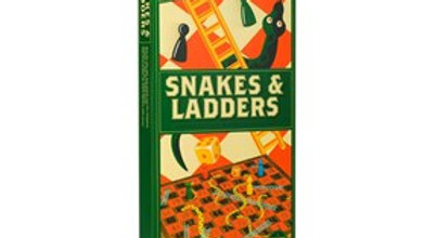 Wood Games Workshop Snakes and Ladders