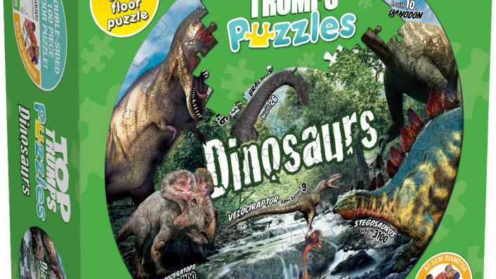 Top Trumps Puzzle Dinosaurs Puzzle 100 pieces