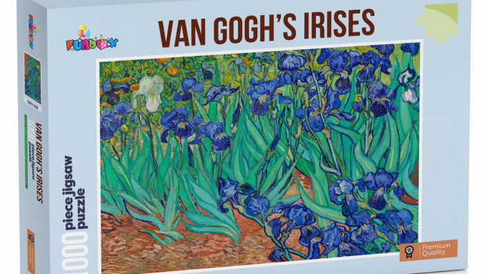 Puzzle 1000 pieces Funbox Van Goghs Irises