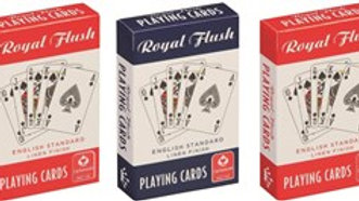 Royal Flush Linen Playing Cards
