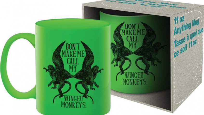 The Wizard of Oz Coffee Mug Don't Make Me Call My Winged Monkeys