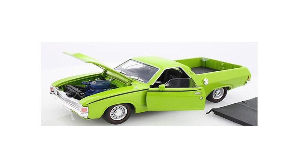 Oz Legends 1 32 XA GS Ute Ford Lime Glaze - CT32838LG Diecast Car