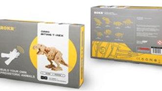 Robotic Dinosaur Biting T-Rex
