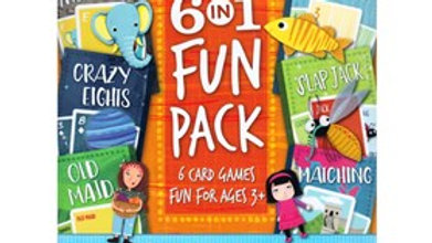 Hoyle Kids Card Games 6 In 1 Fun Pack