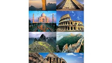 Puzzle 1500 piece 7 Wonders Of New World