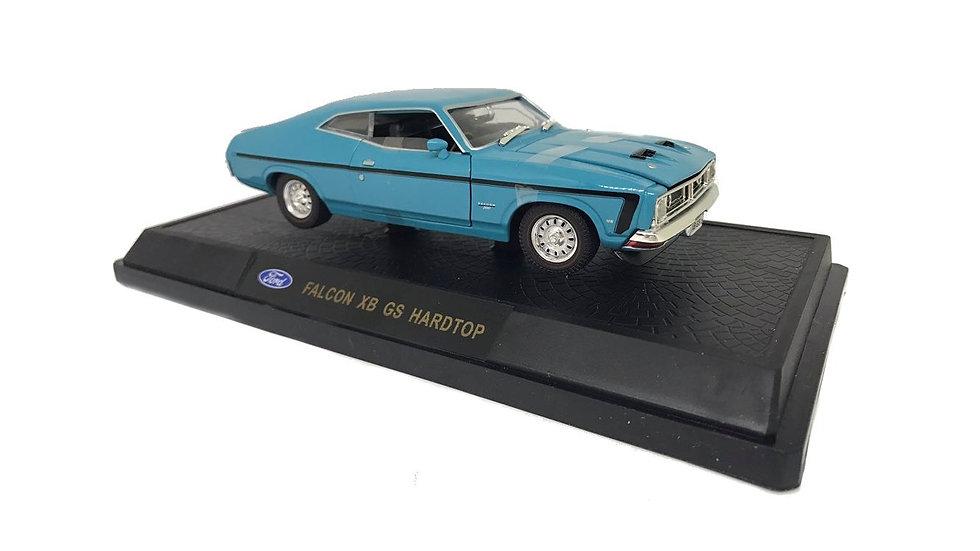 Oz Legends 1 32 Deep Aqua XB GS Ford Falcon Hardtop - CT32848A Diecast Car