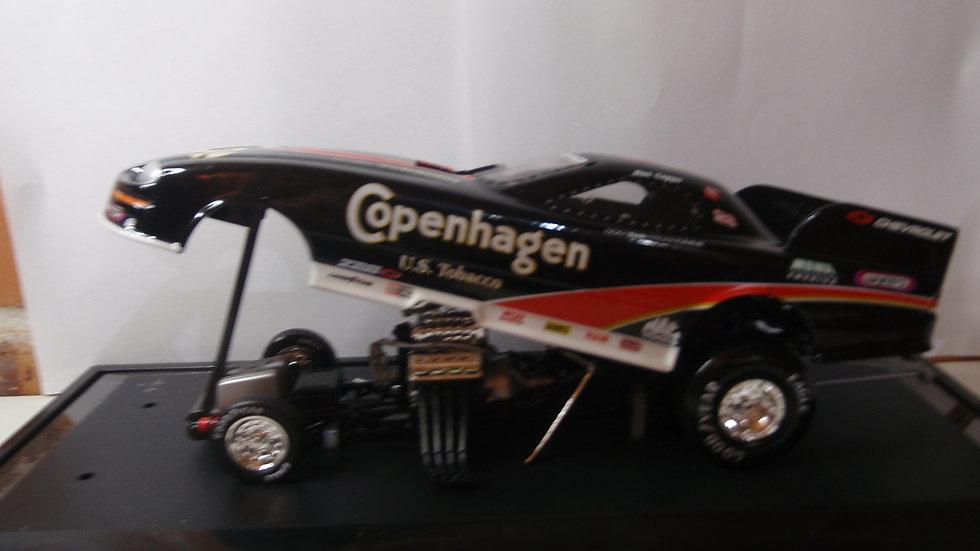 1:24 Die Cast Copenhagen Funny Car in Perspex Display Case