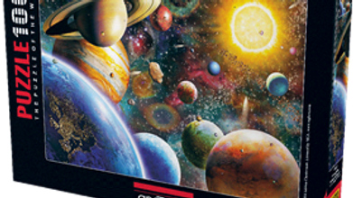 Puzzle 1000 piece Planets In Space