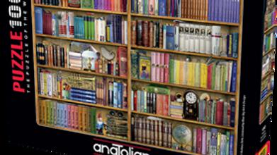 Puzzle 1000 piece Bookshelves