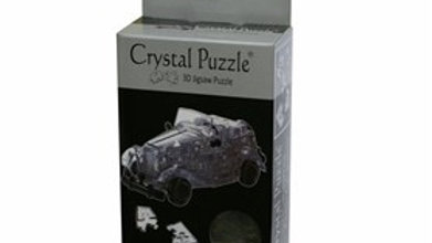 Crystal Puzzle Classic Car Black 3D 53 pieces