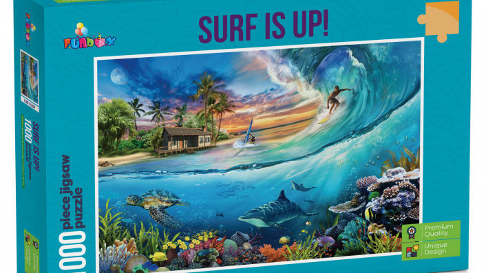 Puzzle 1,000 pieces Funbox Surf Is Up