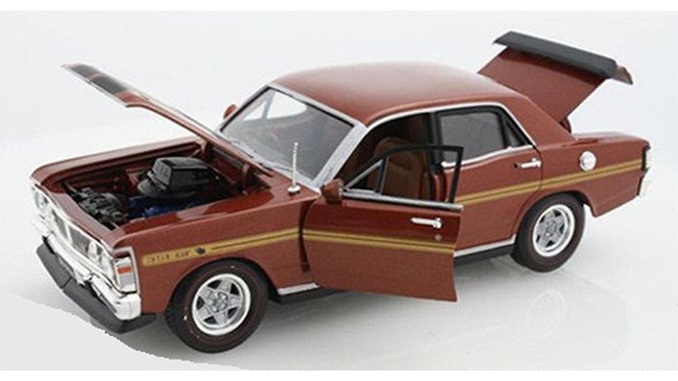 Oz Legends 1 32 XY GTHO Ford Bronze Wine - CT32379BW Diecast Car