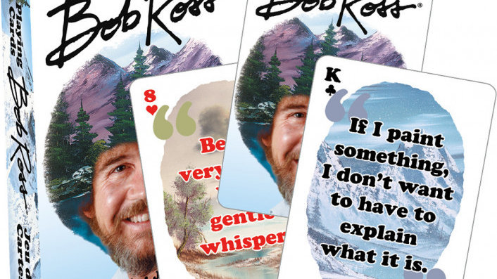 Playing Cards Bob Ross
