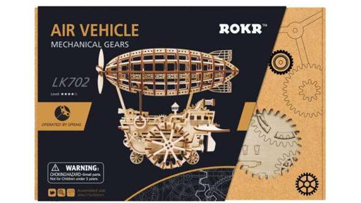 Mechanical gears air vehicle