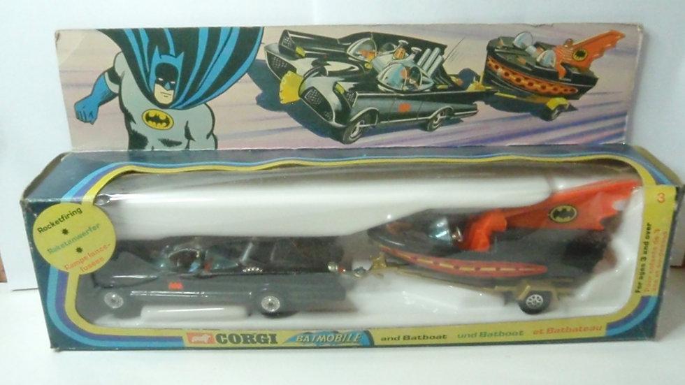 Batmobile and Batboat 3