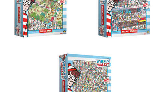 Puzzle 1000 piece Where's Wally