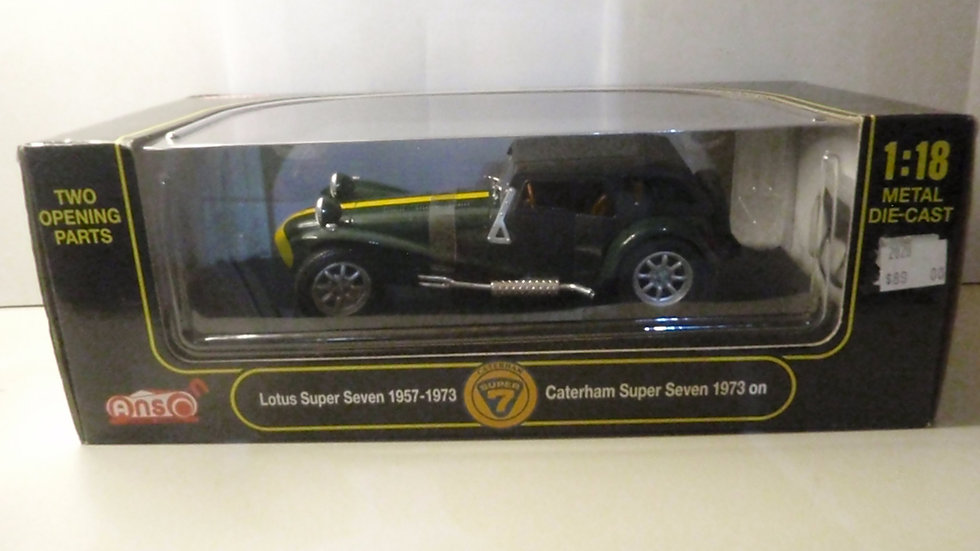Boxed Lotus Caterham Super Seven 1957-1973