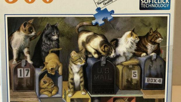 Puzzle 300 piece Cats Got Mail