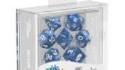 Oakie Doakie Dice RPG Set Marble - Blue 7