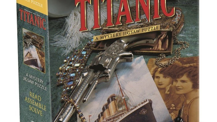 Puzzle 1000 pieces Murder on the Titanic