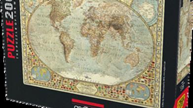 Puzzle 2000 piece World Map