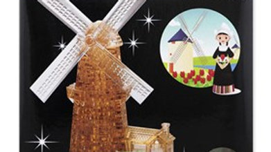 Crystal Puzzle 3D Windmill 64 pieces