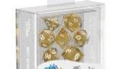 Oakie Doakie Dice RPG Set Speckled - Orange 7