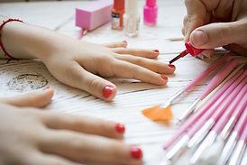 Getting Manicure