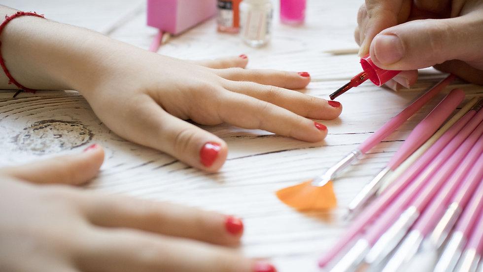 Mini Manicure with Polish