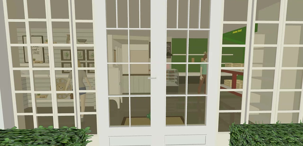 3D Design for the Store Remodel