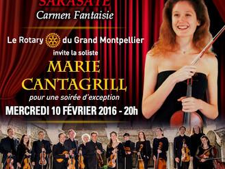 """CONCERT EVENEMENT - Marie Cantagrill et l'OCA à l'Opéra de Montpellier pour """"Un grand c"""