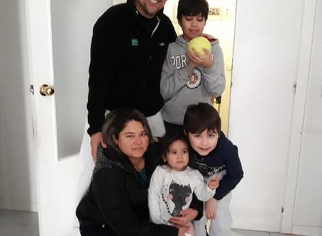 La familia de Martín tiene un nuevo hogar