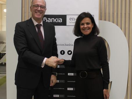 Renovamos el convenio con Bankia en acción