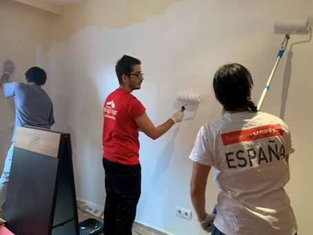 Pintamos y acondicionamos un hogar