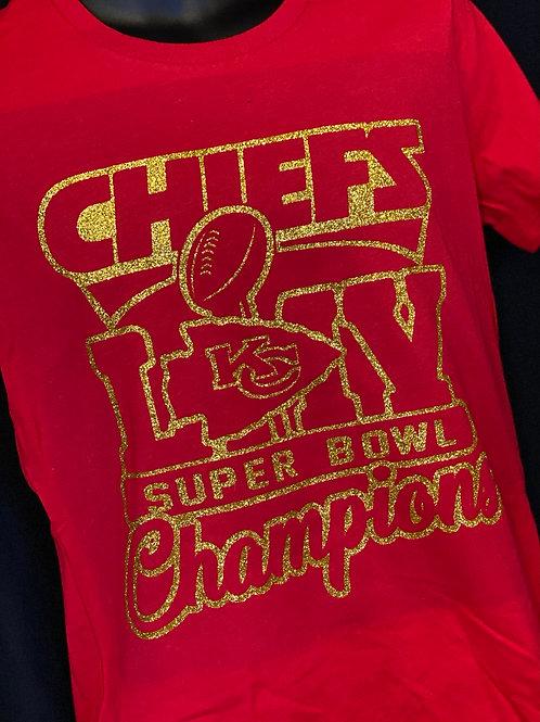Chiefs LIV Champions - Glitter