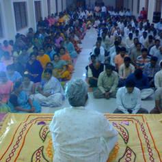 Meditation class By Sadhguru Tara Vishal