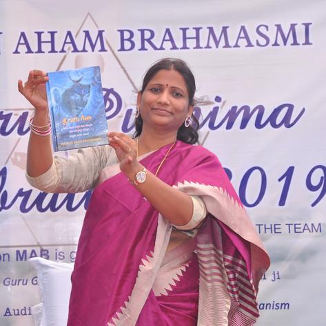 Launch of Guru Gita by Sadhguru Devi