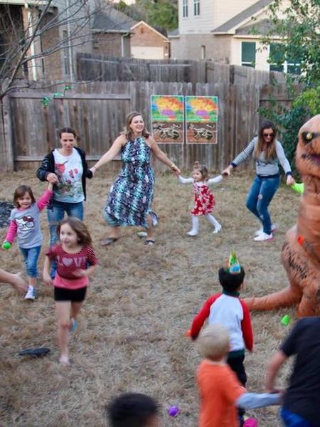 Dinosaur Birthday show