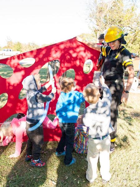 Firefighter Birthday show