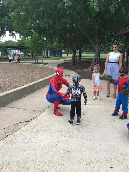 Hello Spiderwoman