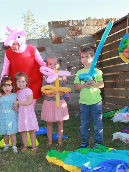 Peppa loves kids. Kids love Peppa