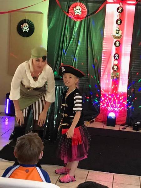 Pirate Birthday show