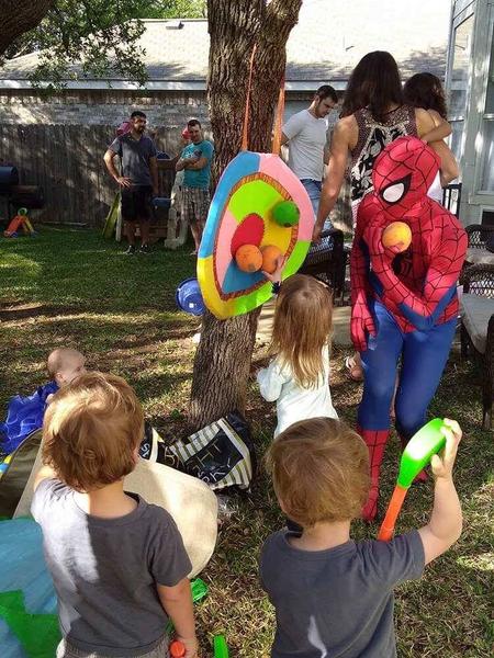 Spiderwoman Birthday show