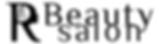 RBeauty salon logo