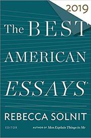 """Notable Essay"" - Best American Essays 2019"