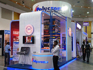 POLYCHROME EXHIBITION STALL - 2015 @ BMICH